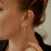 Long Bar Threader Earrings - She's Unique Jewelry