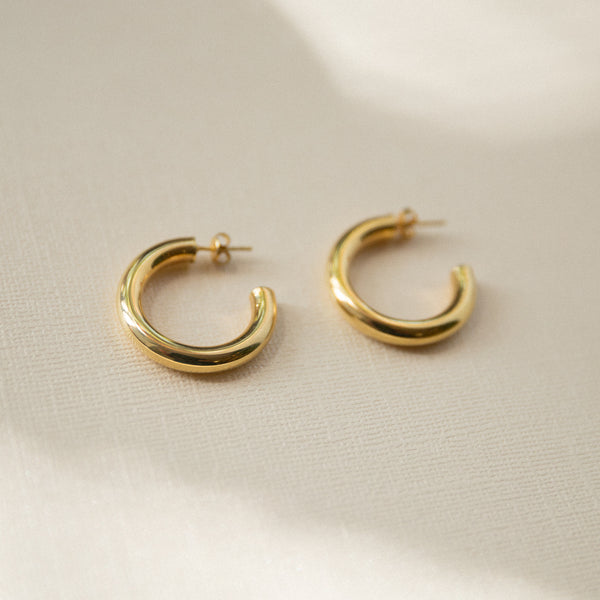 Chunky Hoop Earrings - She's Unique Jewelry