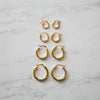 Classic Hoop Earrings | Large - She's Unique Jewelry
