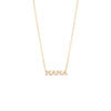 Zoe Chicco itty bitty 'MAMA' Necklace