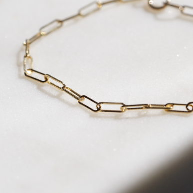 Lilah Link Bracelet | 14K - She's Unique Jewelry