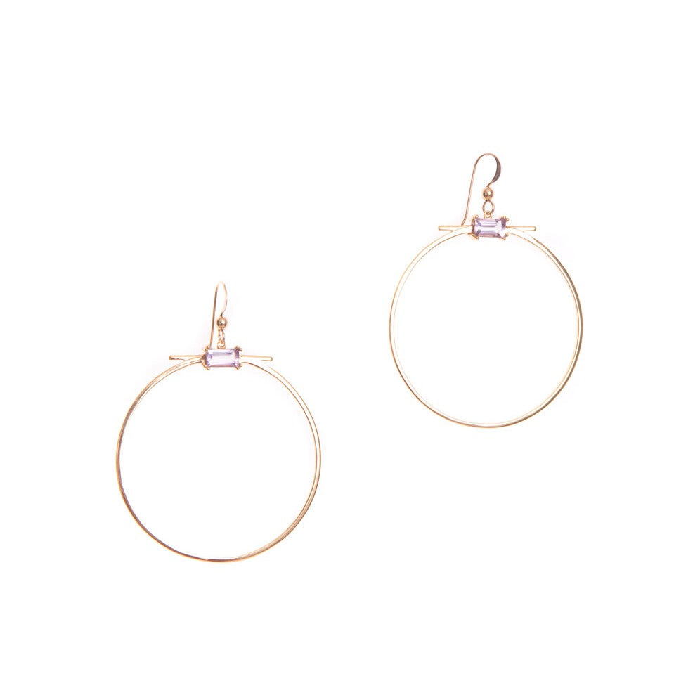Mendoza Hoop Earrings - She's Unique Jewelry