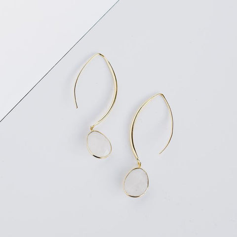 Stiletto Earrings | Moonstone - She's Unique Jewelry