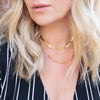 Herringbone Chain Necklace - She's Unique Jewelry