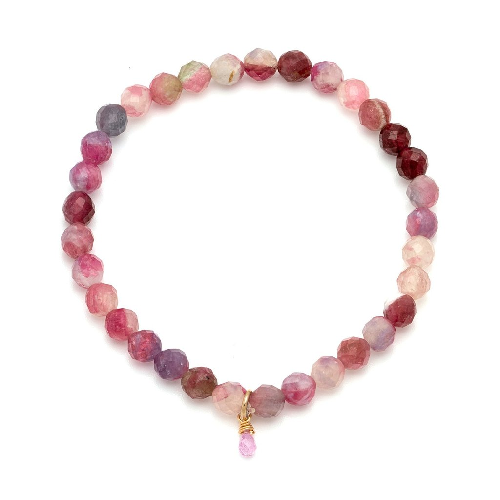 Social Mini Bracelet | Ruby - She's Unique Jewelry