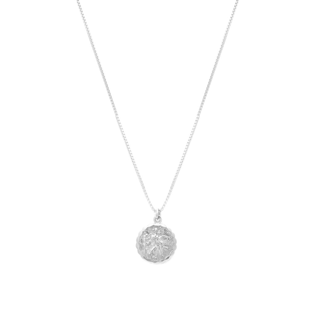 Saint Christopher Necklace | Silver - She's Unique Jewelry