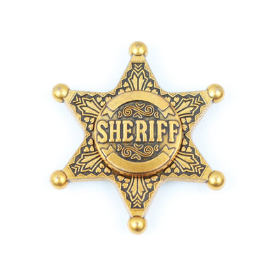 Sheriff Star - Gold