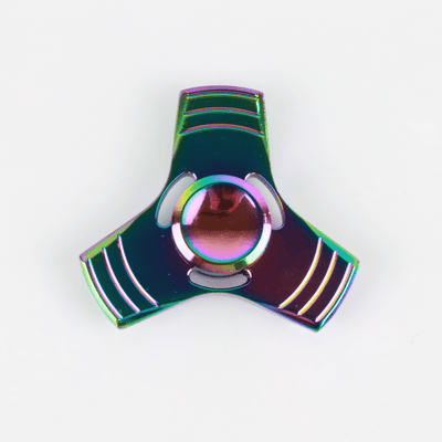 Anodized Metal Fidget Spinner