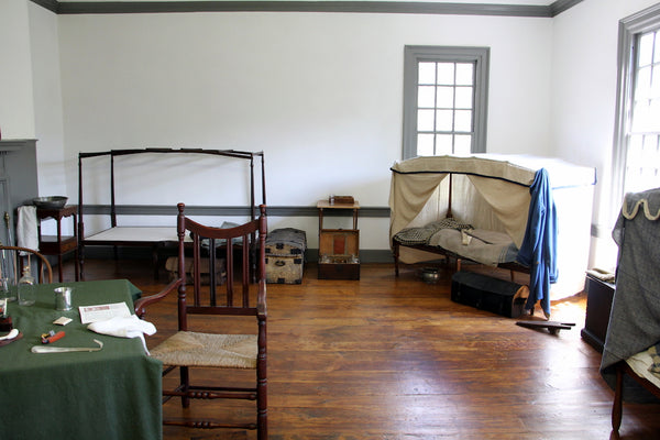 Morristown National Historical Park officers bunks