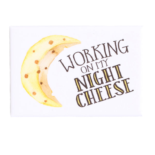 30 Rock Night Cheese Fridge Magnet | The Casey BarberSHOP | shop.caseybarber.com