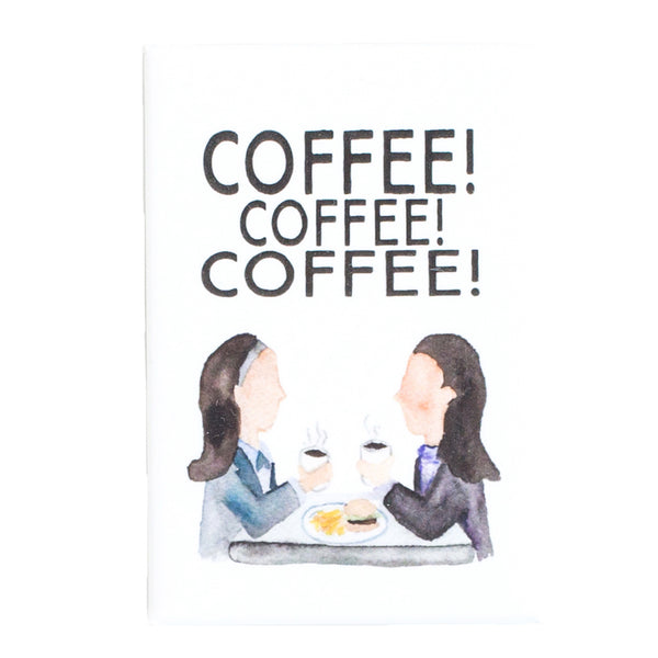 Gilmore Girls COFFEE Fridge Magnet | The Casey BarberSHOP | shop.caseybarber.com