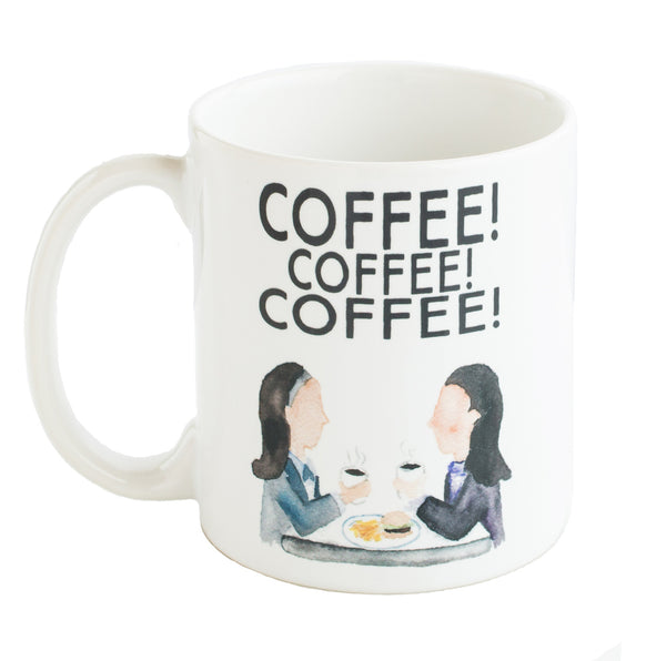 Gilmore Girls COFFEE Mug | The Casey BarberSHOP | shop.caseybarber.com