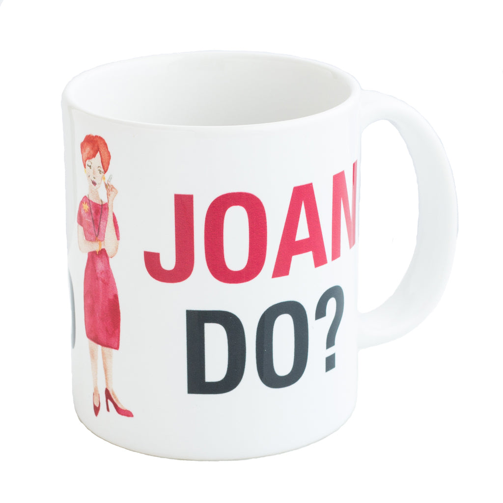 Mad Men Joan Holloway Mug | The Casey BarberSHOP | shop.caseybarber.com