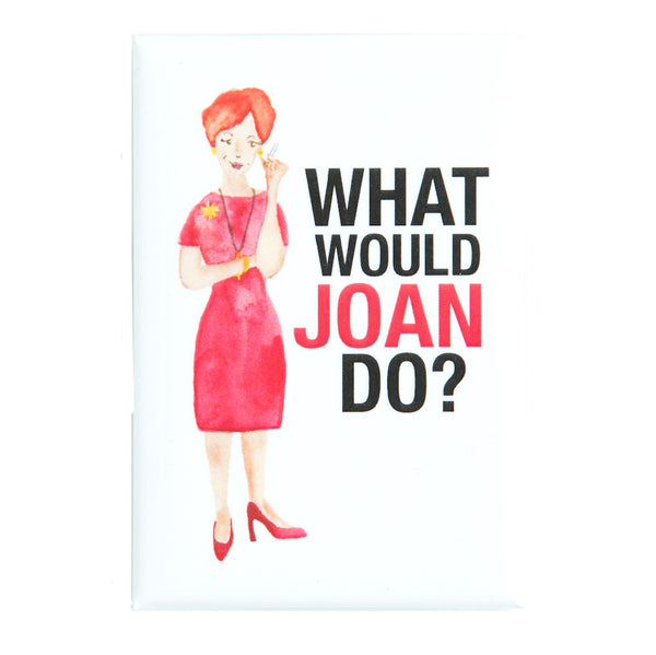 Mad Men Joan Holloway Fridge Magnet | The Casey BarberSHOP | shop.caseybarber.com