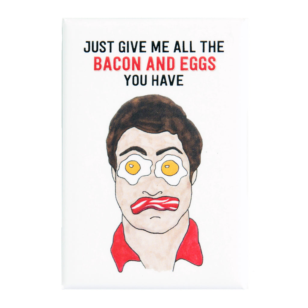 Parks and Recreation Ron Swanson Fridge Magnet | The Casey BarberSHOP | shop.caseybarber.com