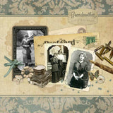 Portraits of the Past Digital Scrapbook Kit by Lucky Girl Creative