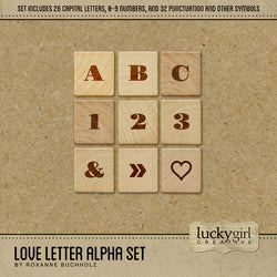 Love Letter Alpha Set