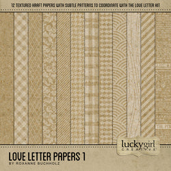 Love Letter Papers 1