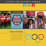 Best of the Olympics Digital Scrapbook Kit by Lucky Girl Creative