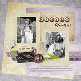 Portraits of the Past Digital Scrapbook Kit