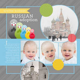 Russia Digital Scrapbook Kit by Lucky Girl Creative