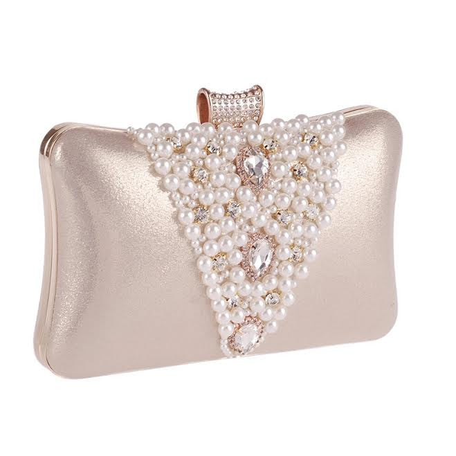 The Logan Elegant Petal Clutch