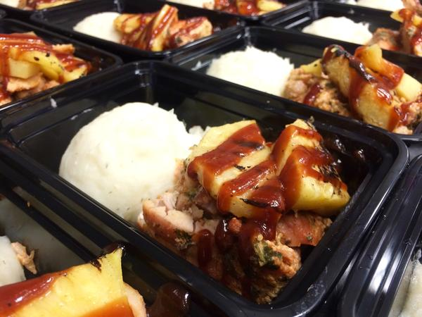 "MACRO MEAL 3 .""PINEAPPLE BBQ CHICKEN""- 50C/40P/15F"