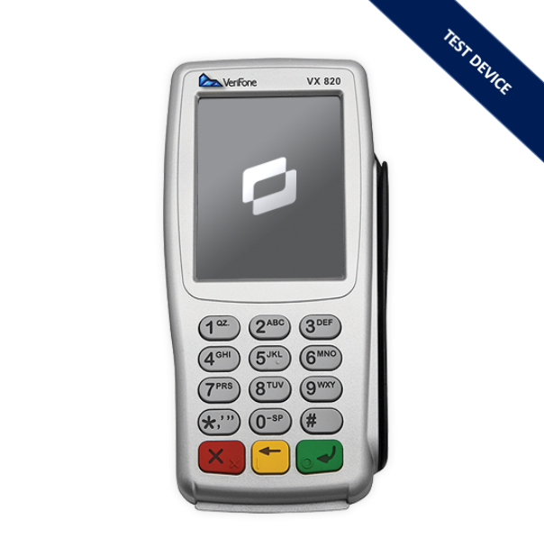 Verifone VX820 Test Reader