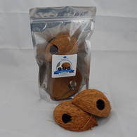 Half Coconut Caves (2 Pack)