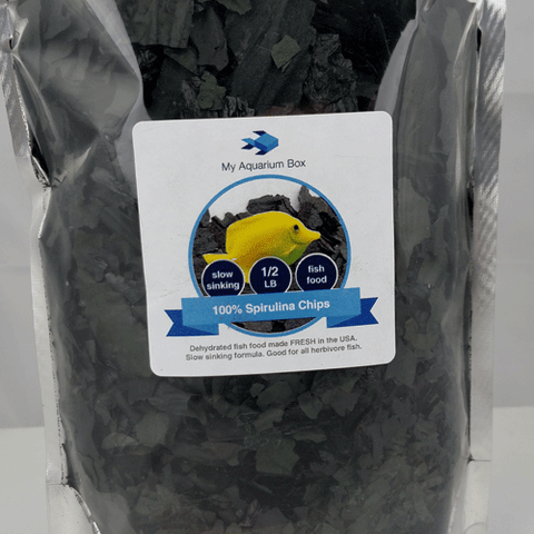 My Aquarium Box 100% Spirulina Chips