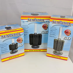 Seapora Aquarium Breeder Sponge Filter