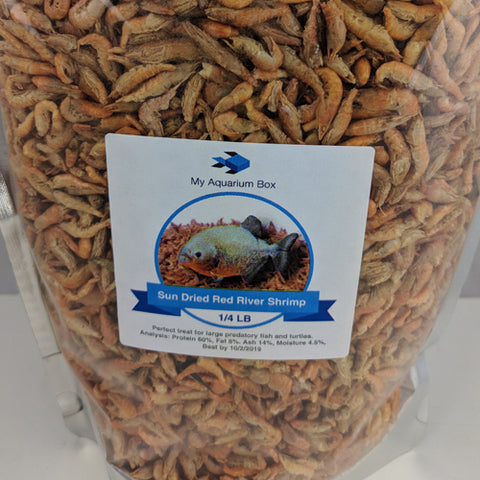Sun Dried River Shrimp - 1/4 LB