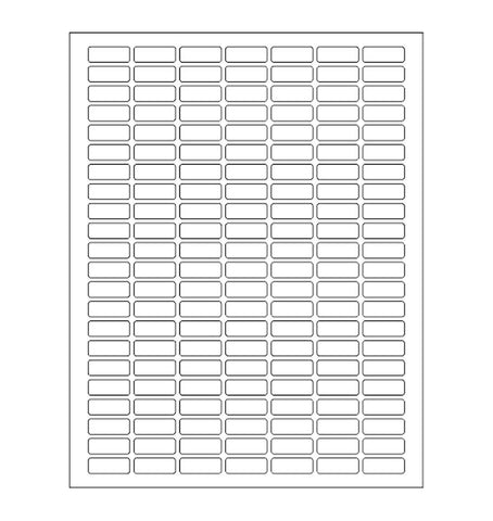 Value Pack Color Coding White Rectangular Labels