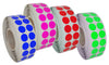 Dot stickers 11/16 inch Rolls 17mm Color coding labels
