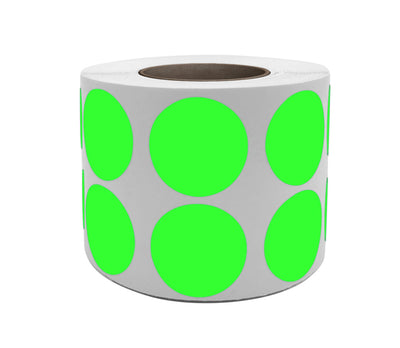 Dot stickers 3/4 inch Rolls 19mm Color coding labels