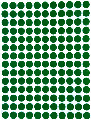 Dot stickers 3/8 inch classic colors 10mm