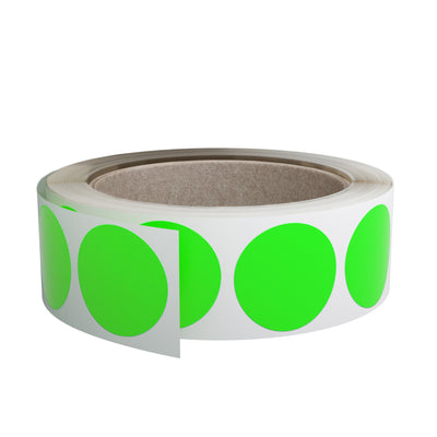 Dot stickers 1 inch Rolls 25mm Color coding labels