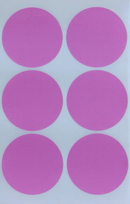 Dot stickers 2 inch classic colors 50mm