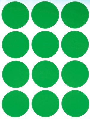 Dot stickers 1.5 inch classic colors 38mm