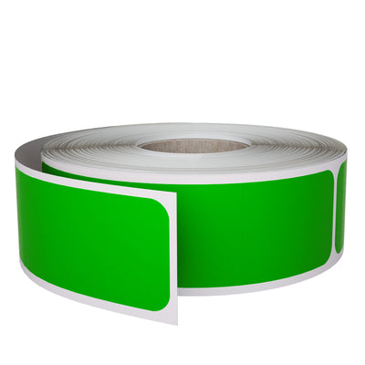 Rectangular Stickers 3x1 inch Label Rolls (75mm x 25mm)