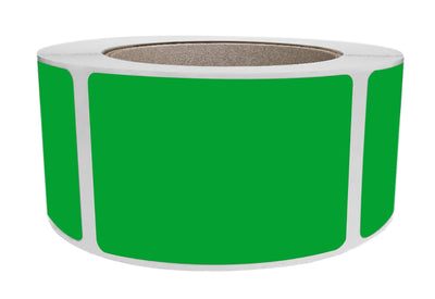 Rectangular Stickers 3x2 inch Label Rolls (76mm x 51mm)