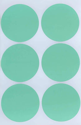 Dot stickers ½ inch Pastel colors 50mm