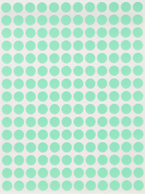 Dot stickers 1/4 inch Pastel colors 8mm