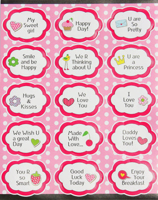 Encouraging Inspirational Sticker Positive Quotes Labels -15 pack