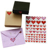 Valentines Day Colored Heart 3 Sizes Stickers