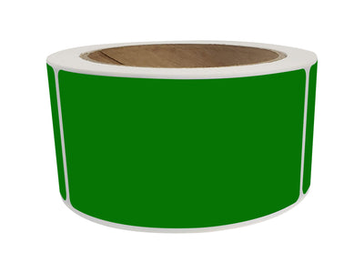 Rectangular Stickers 4x2 inch Label Rolls (100mm x 51mm)