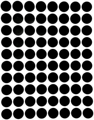 Dot stickers ½ inch classic colors 13mm