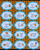 Kids Motivational Stickers Quotes Labels