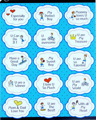 Everyday Positive Motivational Stickers - 15 Pack