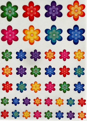 Decorative Flower Stickers For Arts